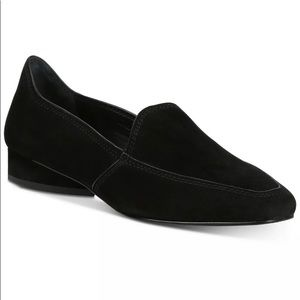 Donald Pliner Icon Closed Suede slip on Loafers